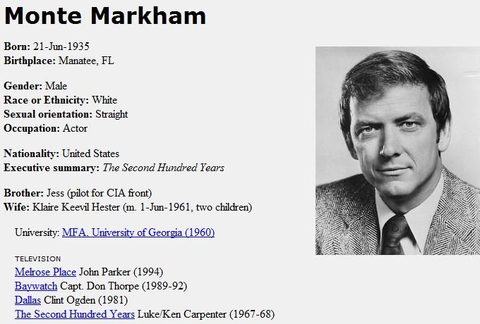 monte markham star trek