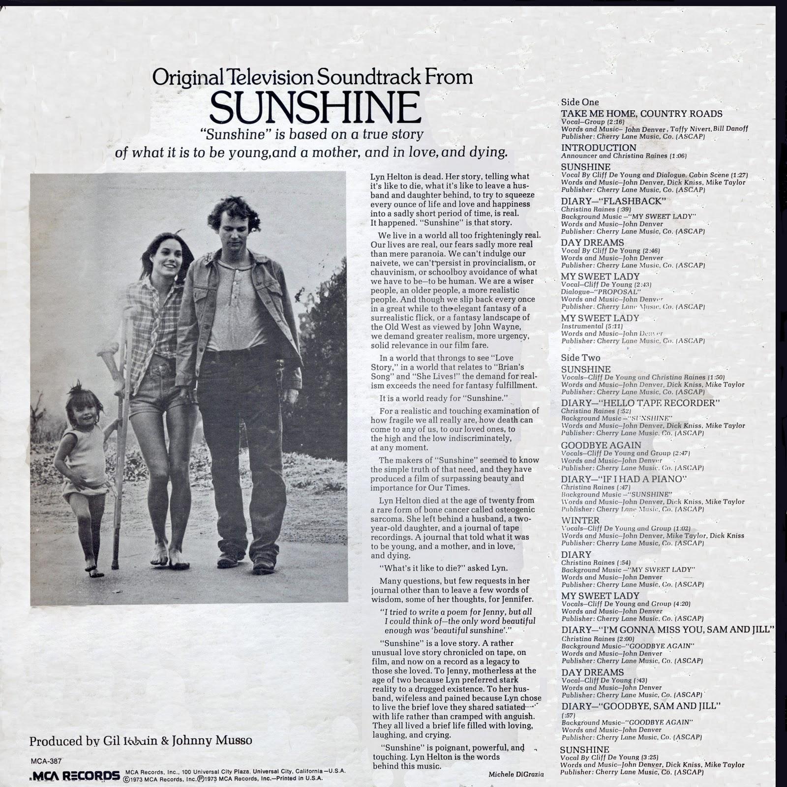 Sunshine movie 1973