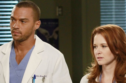 Home   187  All Other TV Shows   187  Current Dramas Dramedies Other TV Shows    Jesse Williams And Sarah Drew