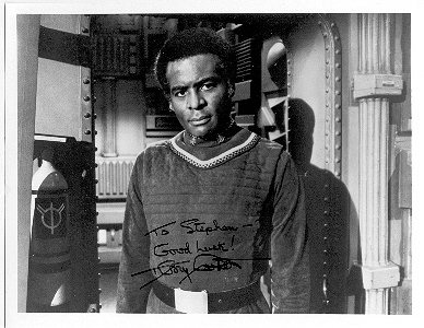 Terry Carter/ Col. Tigh - Sitcoms Online Photo Galleries