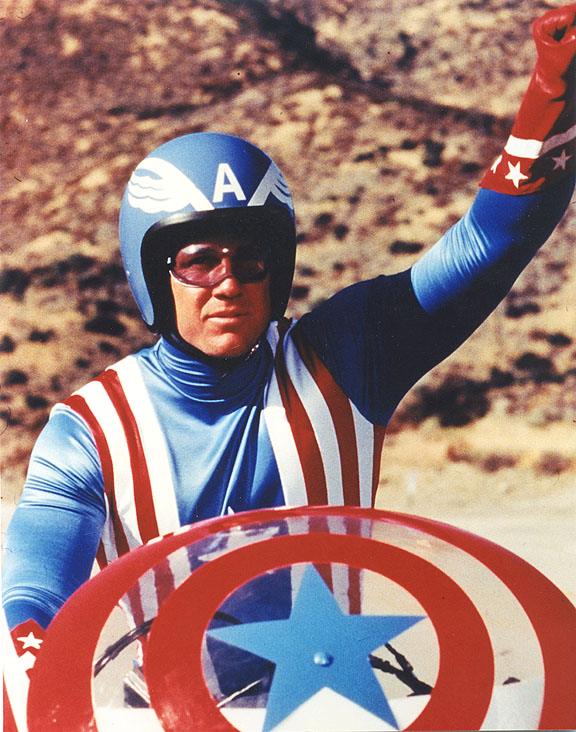 Reb Brown as Steve Rogers/Captain America - Sitcoms Online Photo