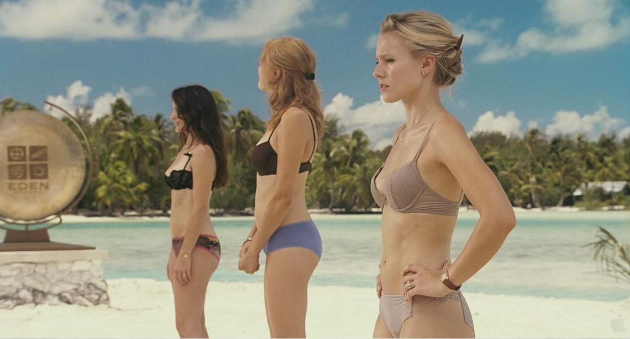 Kristen Bell In A Bikini