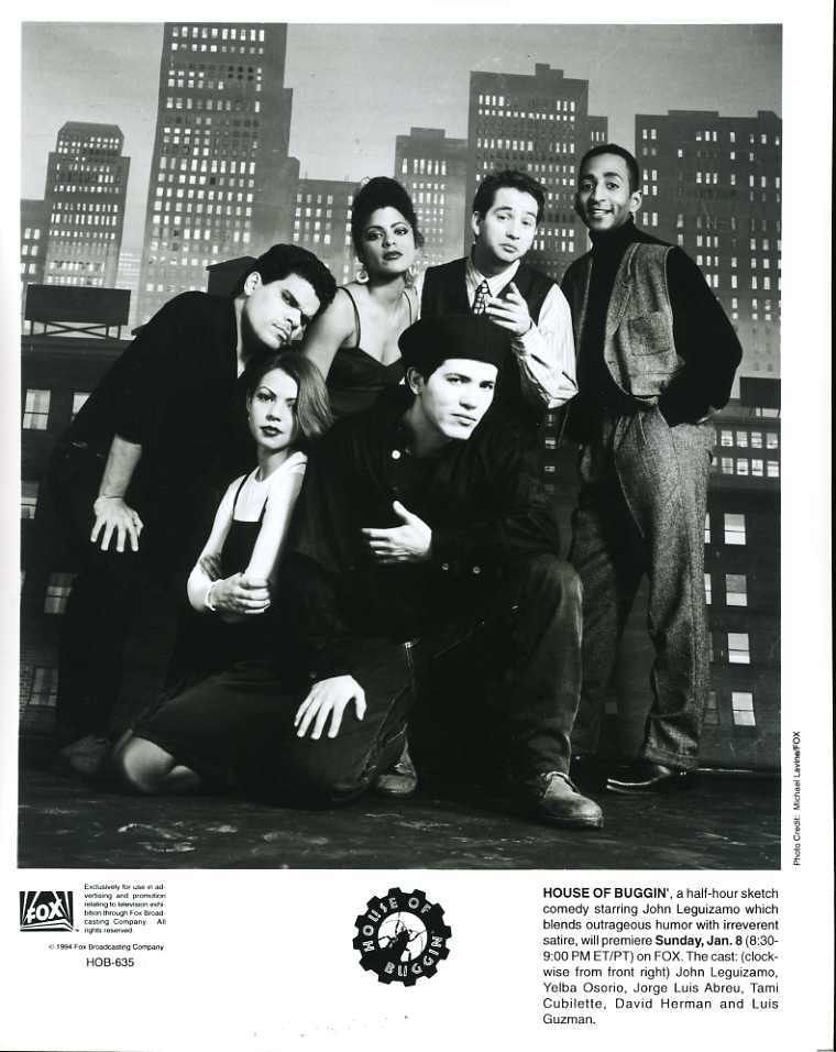 John_Leguizamo_Cast_House_Of_Buggin_Original_8x10_Photo_F7875