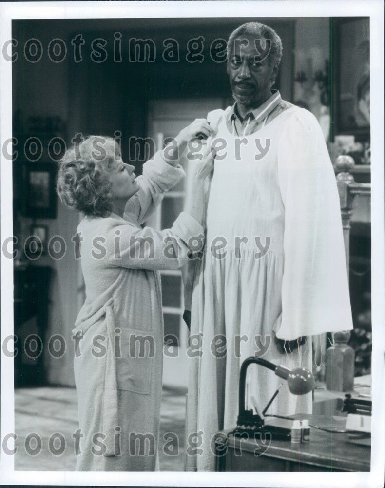 Teddy_Wilson_L_Nettelton_TV_Movie_You_Can_t_Take_it_With_You_Press_Photo