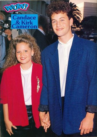 Kirk Cameron And Candace Cameron