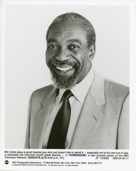 BILL_COBBS_SMILING_PORTRAIT_HOMEROOM_ORIGINAL_1989_ABC_TV_PHOTO