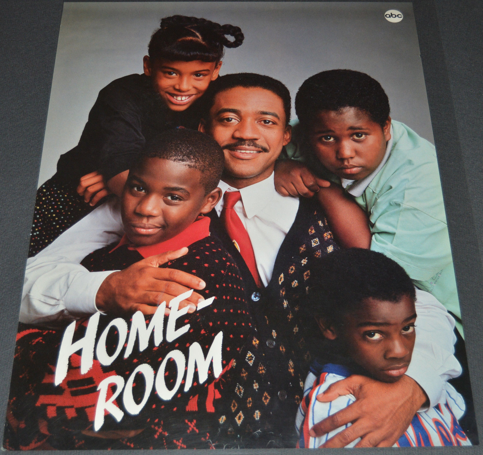 HOME_ROOM_1989_ORIGINAL_25x33_PROMOTIONAL_POSTER_DARRYL_SIVAD_ABC-TV_COMEDY_