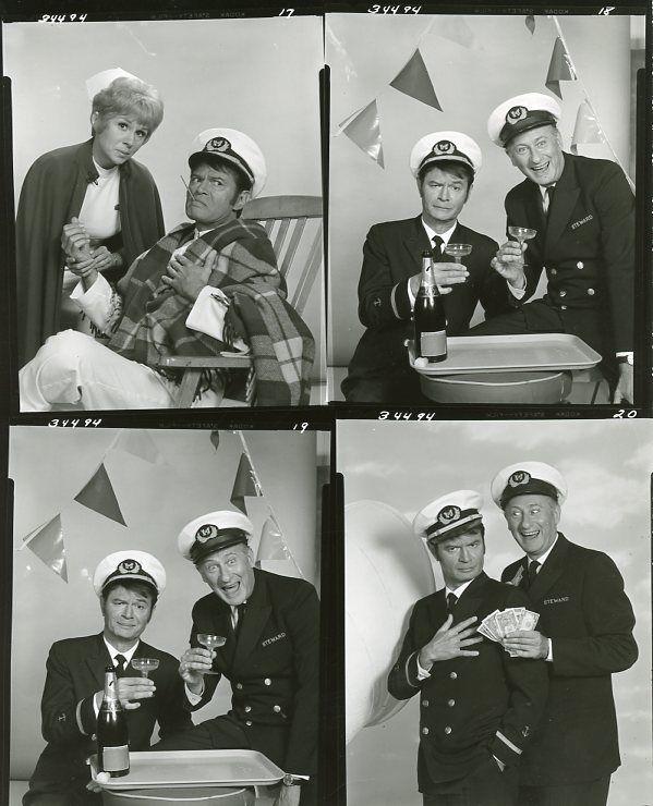 s-BARBARA_STUART_LARRY_STORCH_CARL_BALLANTINE_THE_QUEEN_AND_I_1969_CBS_TV_PHOTO