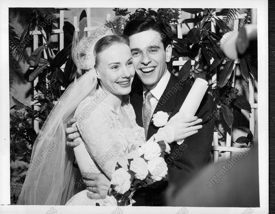 Peggy Ann Garner a wedding