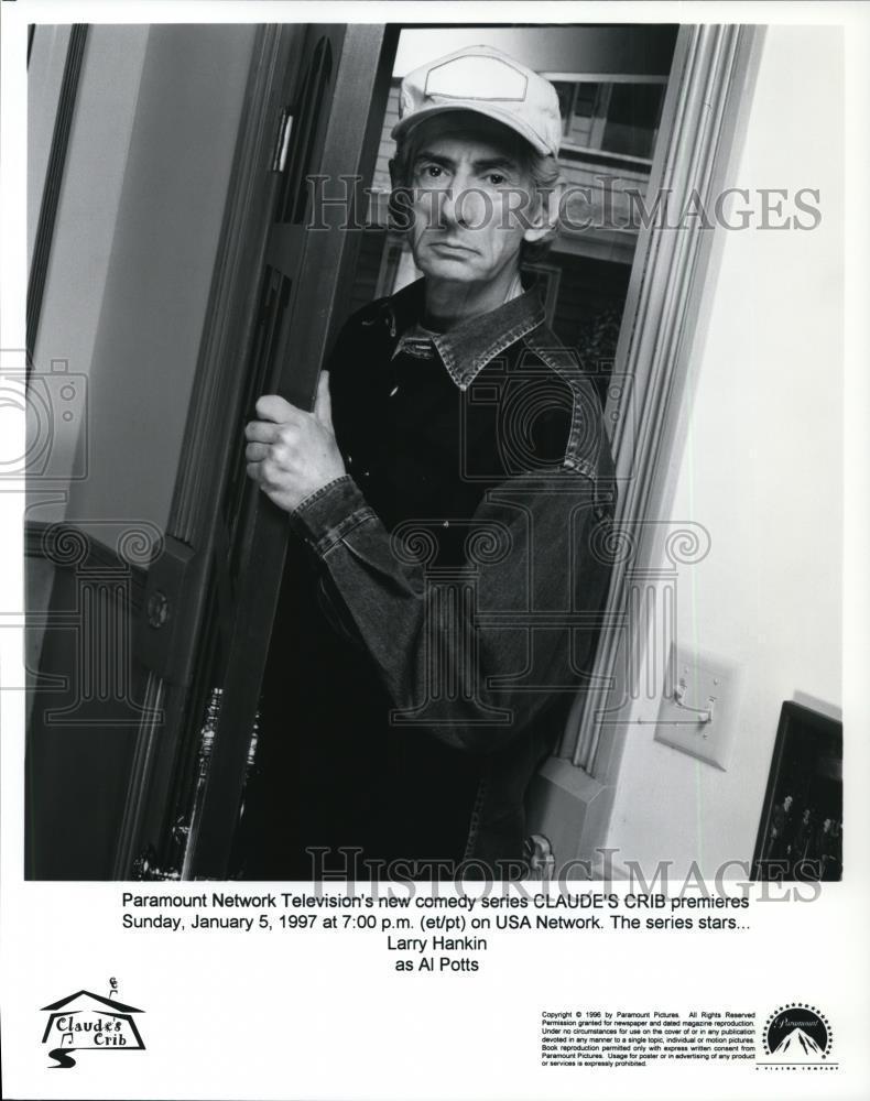 1996_Press_Photo_Larry_Hankin_stars_as_Al_Potts_on_Claude_s_Crib_-_cvp43675