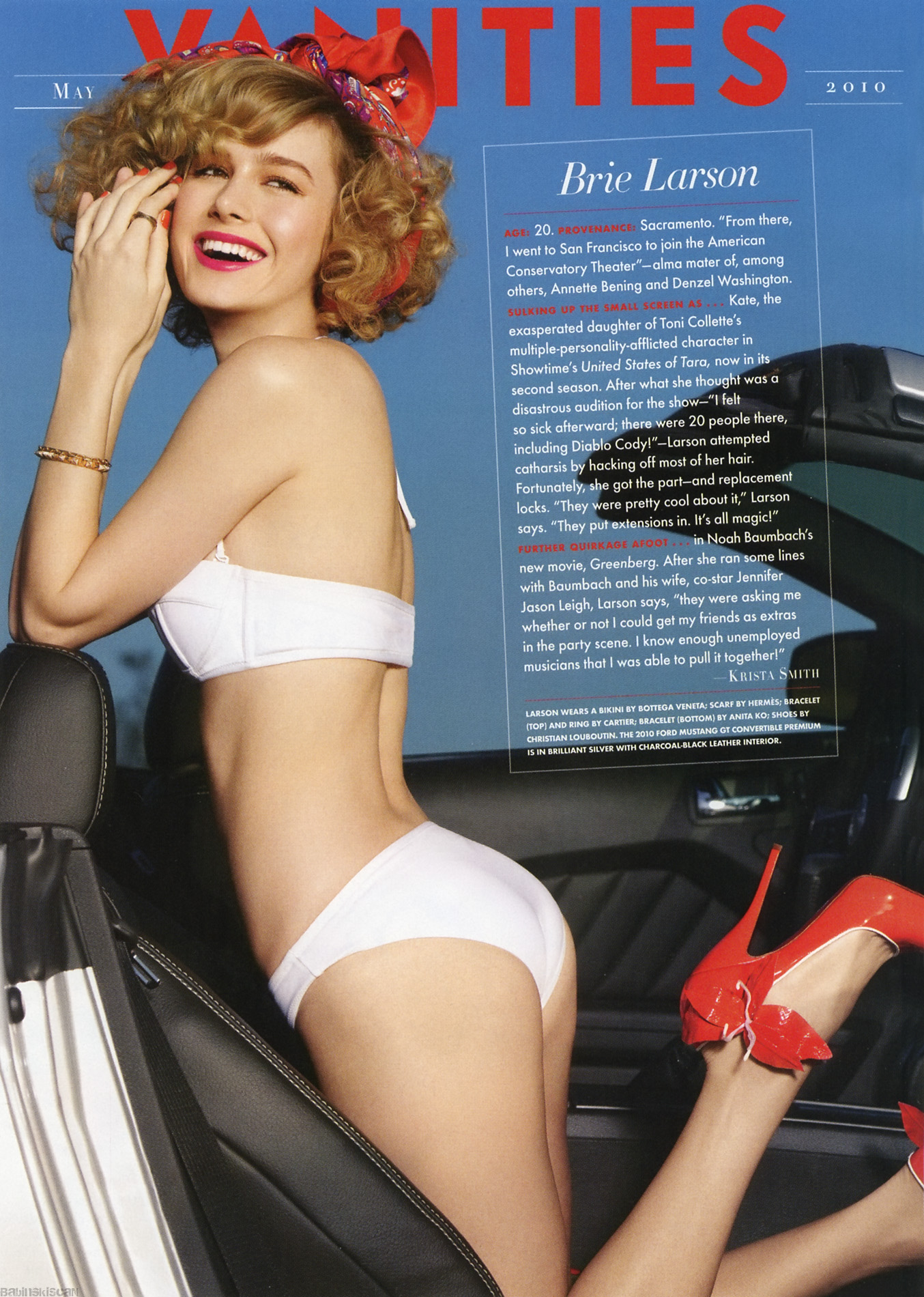 Actress Brie Larson - newhairstylesformen2014.com