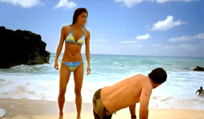 grace park bikini