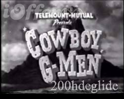 Image result for cowboy g-men tv series