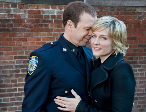 Donnie wahlberg amy carlson as danny linda reagan for What happened to danny s wife on blue bloods
