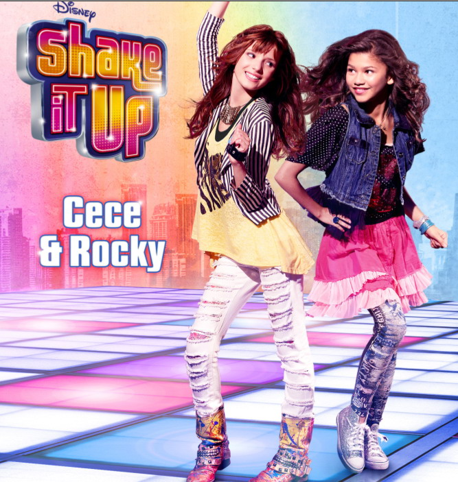 Bella Thorne and Zendaya Shake It Up PromoZendaya And Bella Thorne Shake It Up