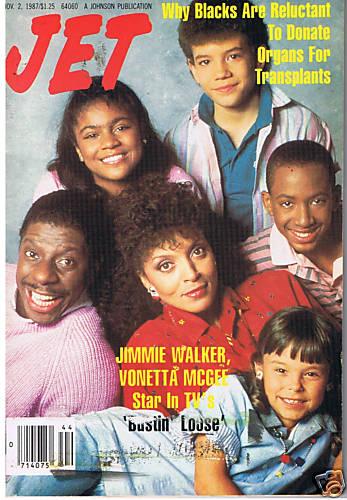Bustin Loose Jet Magazine 11 2 1987 Sitcoms Online