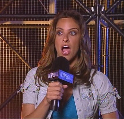 Jill Wagner on ABCs Wipeout - Sitcoms Online Photo Galleries