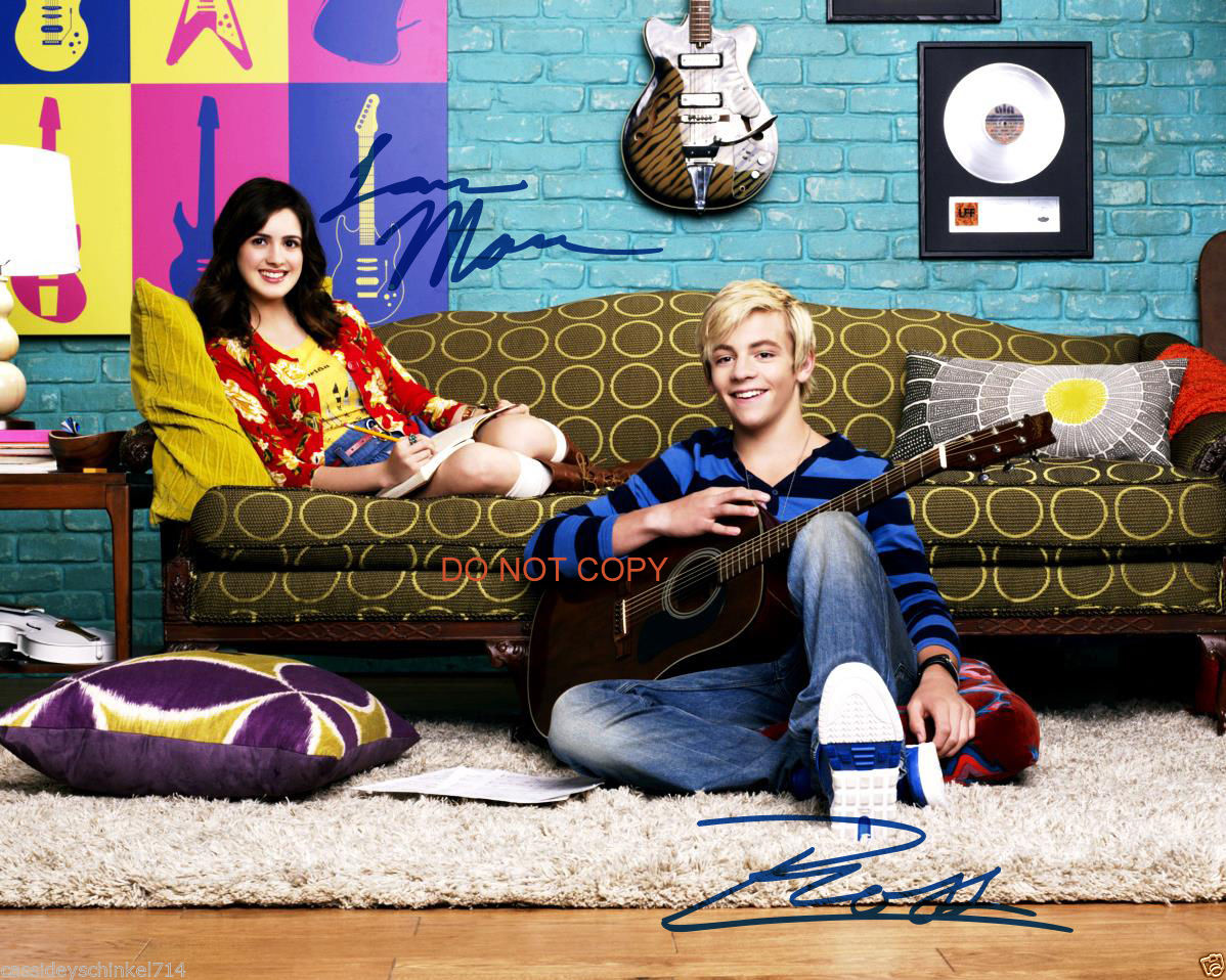 Austin_Ally_Disney_Laura_Marano_Ross_Lynch_8x10_reprint_Signed_Photo_2_RP