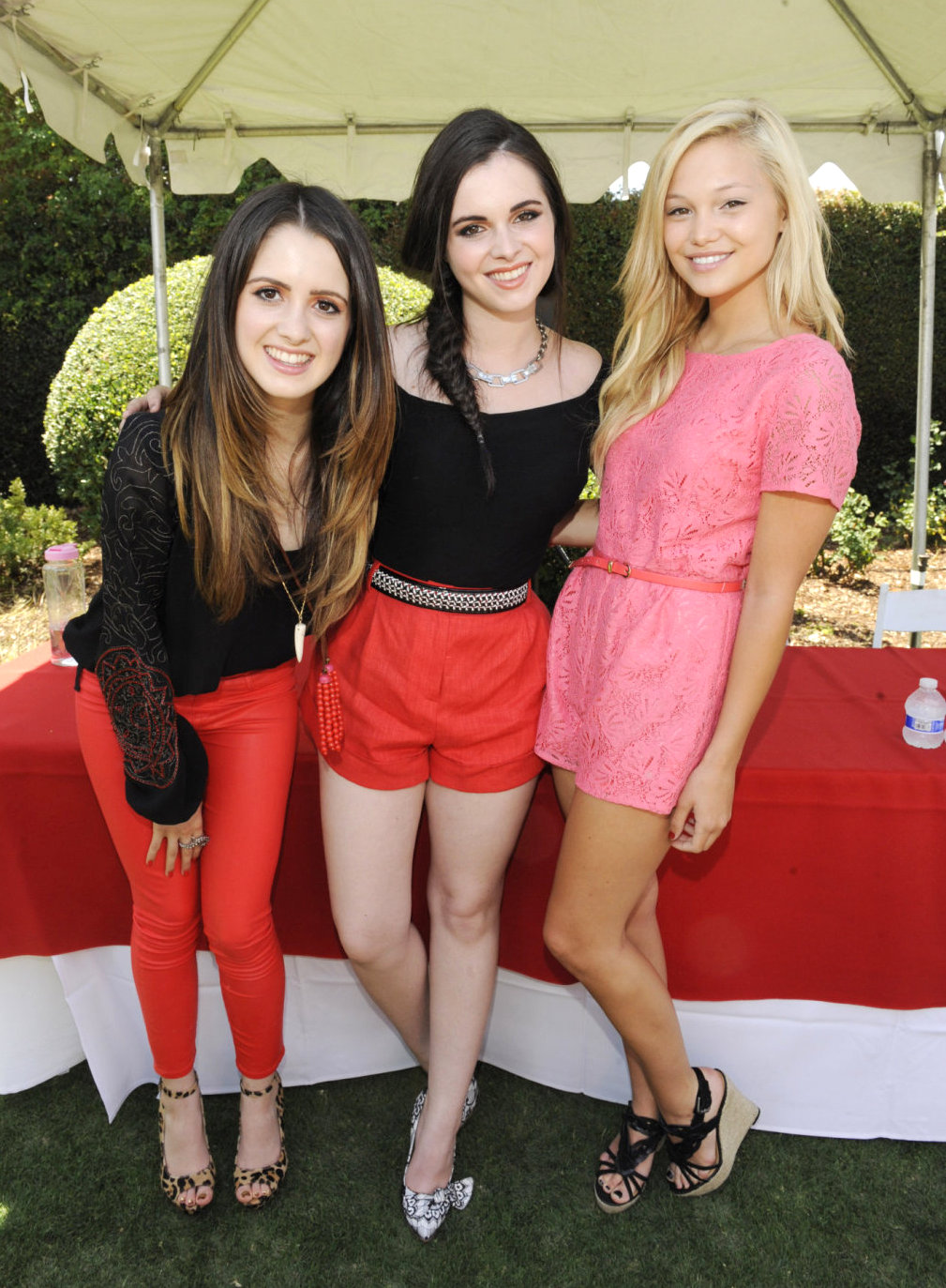 Laura Marano with sister Vanessa and Olivia Holt - Sitcoms