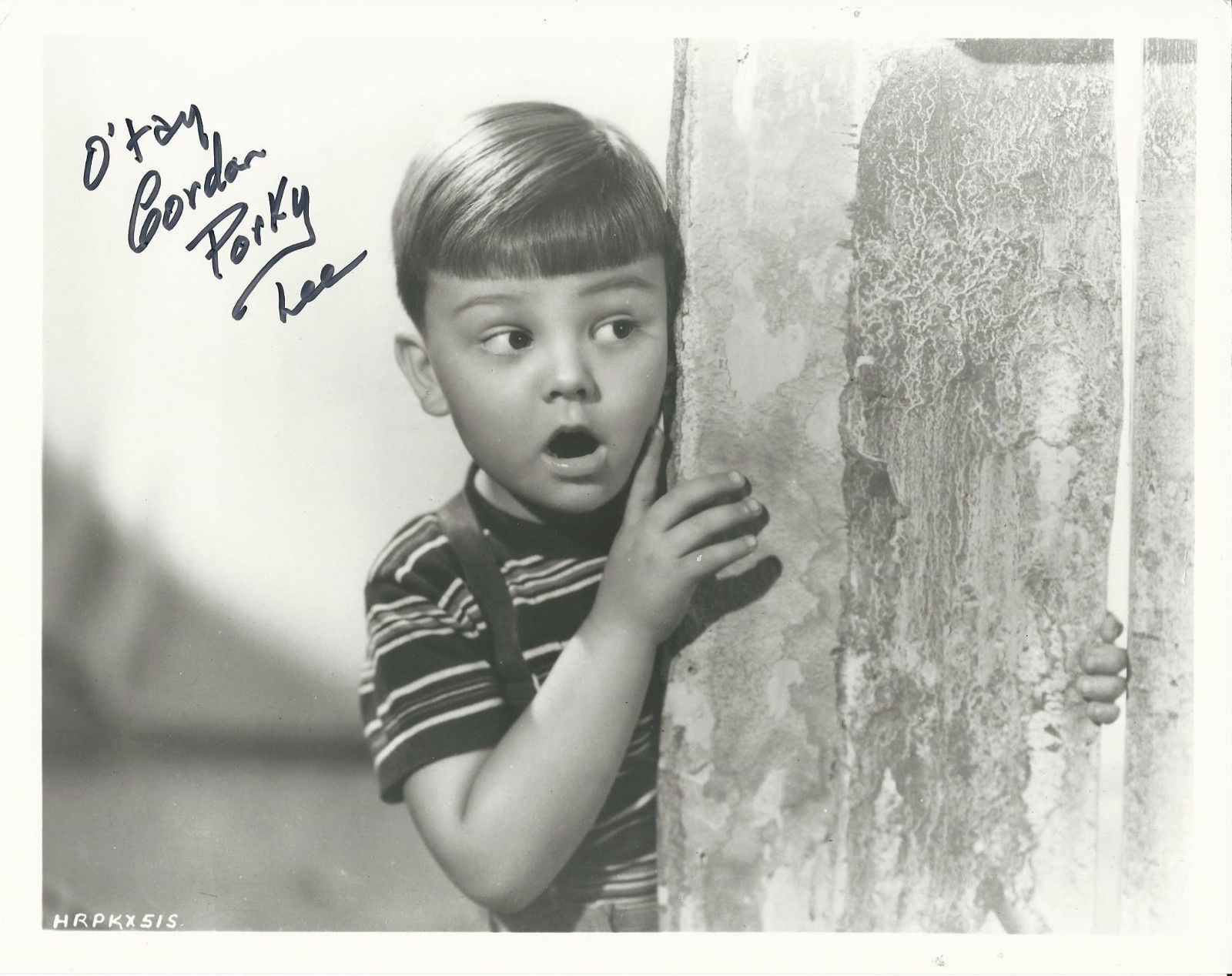 EUGENE_GORDON_LEE_Hand_Signed_8x10_PORKY_Photo_With_COA_-_LITTLE_RASCALS