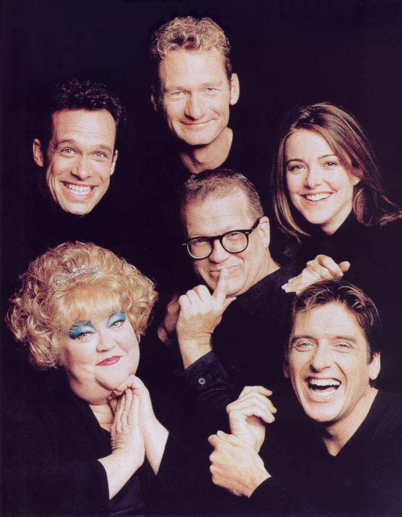 Drew Carey Show; Cast Photo