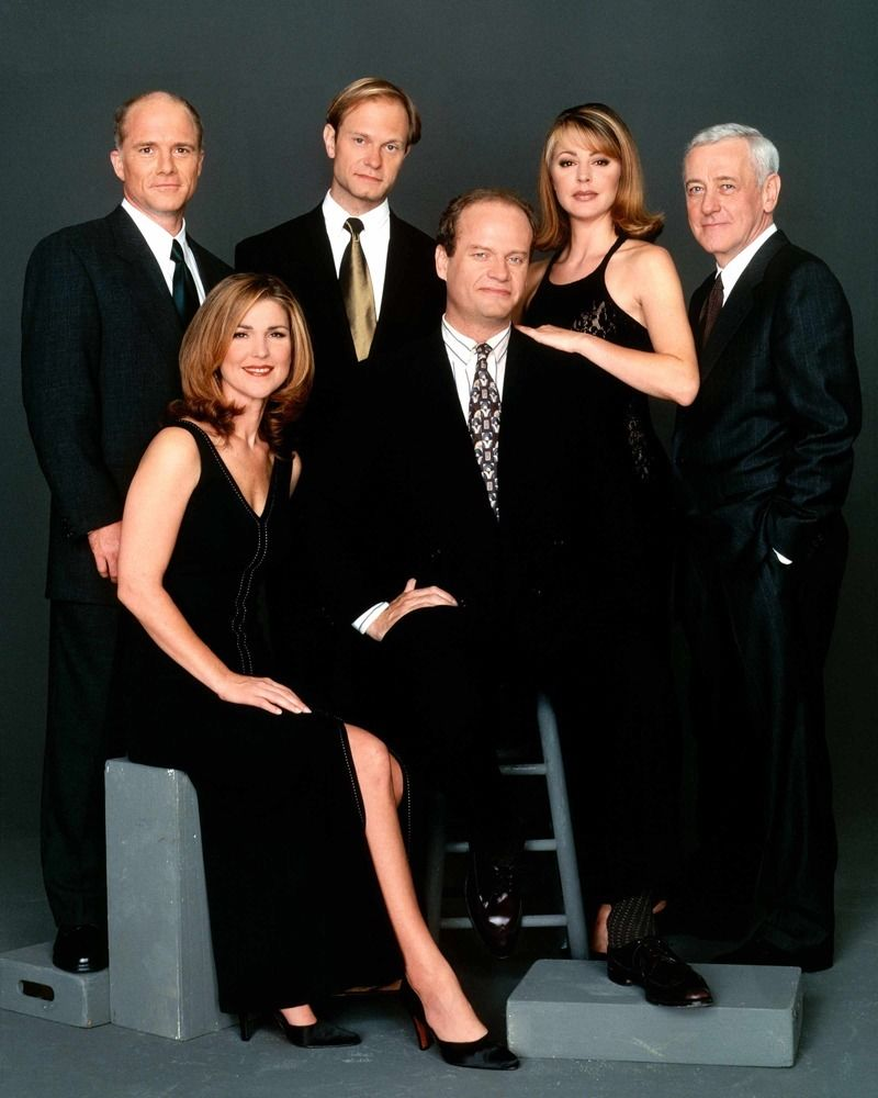 8X10_FRASIER_GLOSSY_PHOTO_photograph_picture_tv_show_season_cast