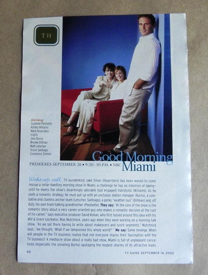Good_Morning_Miami_2002_TV_Series_Promo_Clipping_SUZANNE_PLESHETTE_FEUERSTEIN