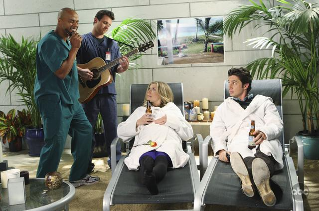 Zach_Braff_Sarah_Chalke_Donald_Faison_and_Michael_Mosley_in_Sc