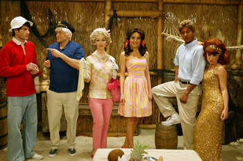 Cast As The Of Gilligan S Island Sits Online Galleries