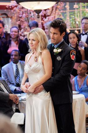 Jennie Garth What I Like About You Wedding Traffic Club