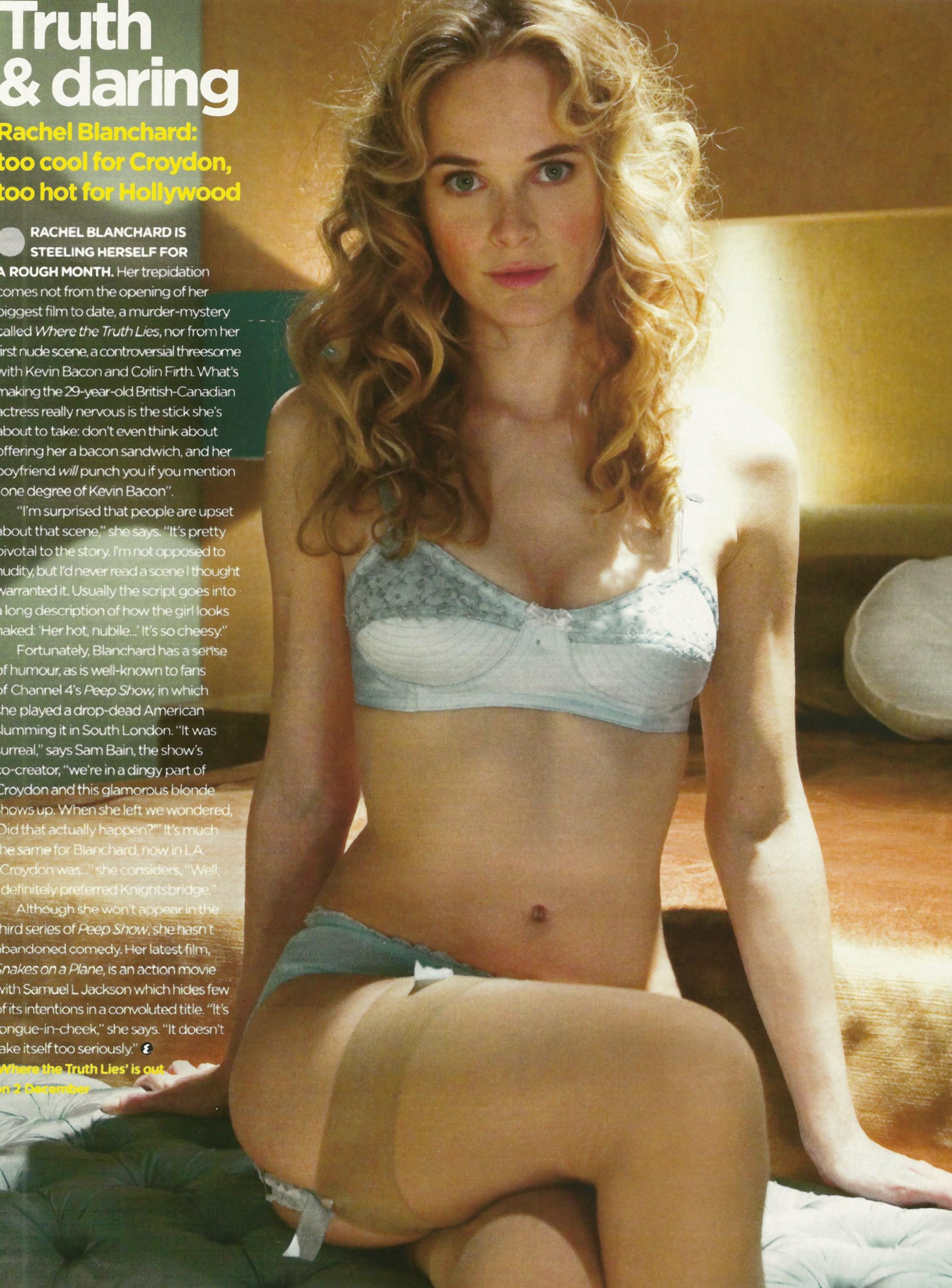 Rachel blanchard in bikini