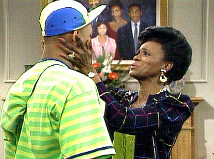 Will Smith and Janet Hubert-Whitten - Sitcoms Online Photo Galleries