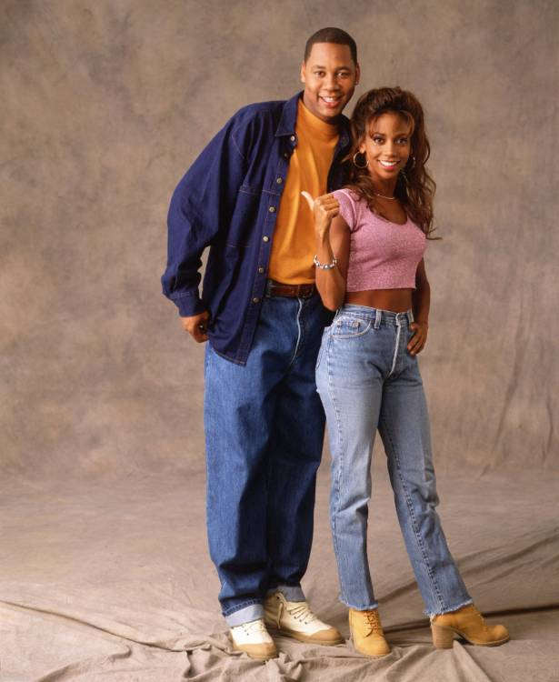 Mark Curry & Holly Robinson-Peete - Sitcoms Online Photo ...