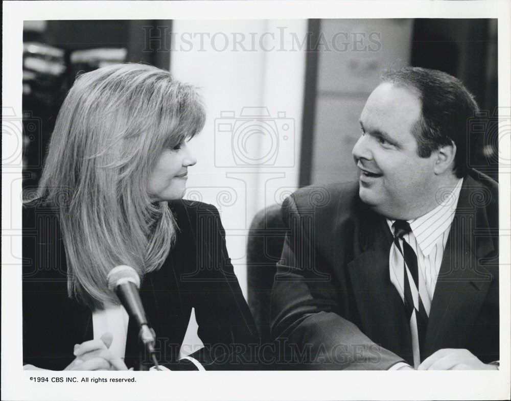 1994_Press_Photo_Hearts_Afire_Markie_Post_Rush_Limbaugh_CBS_Television