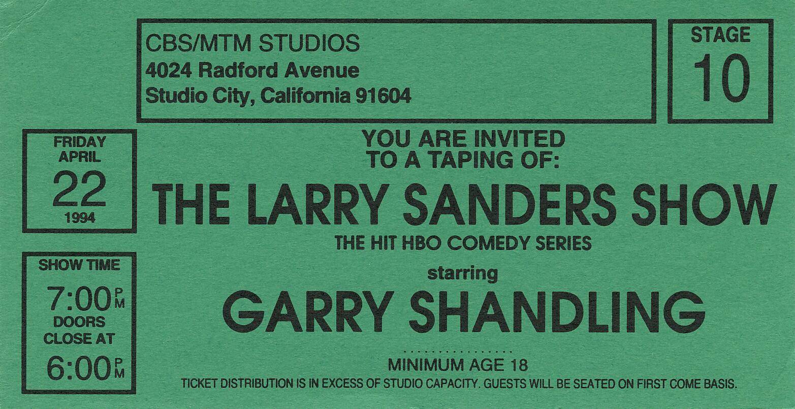 Larry Sanders Show Dvd The Larry Sanders Show