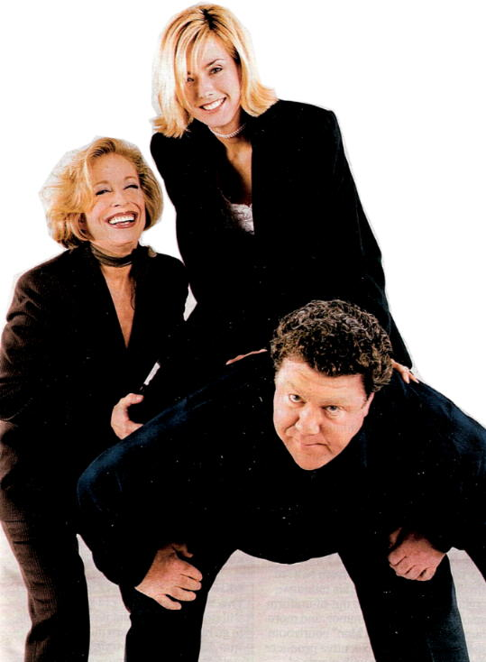 Ta Leoni and George Wendt - Sitcoms Online Photo Galleries