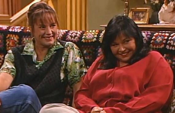 Laurie Metcalf  amp  Roseanne BarrLaurie Metcalf Roseanne