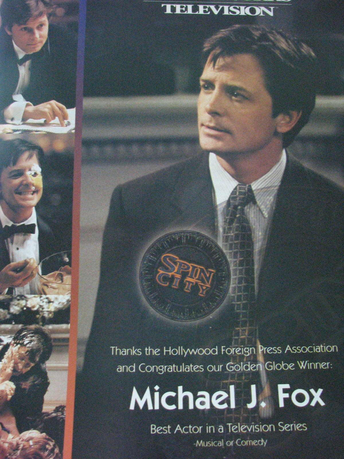 Michael_J_Fox_Spin_City_Emmy_Ad_RARE