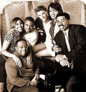 Steve Harvey Show: Cast Photo