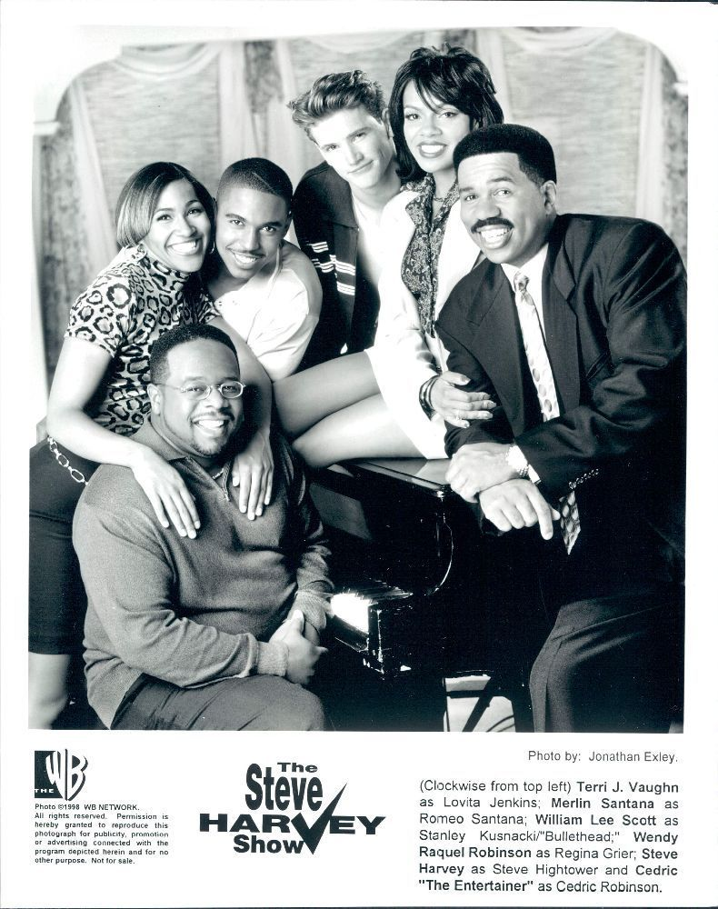 The Cast of The Steve Harvey Show