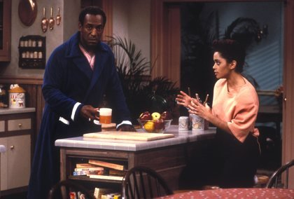 Pictures lisa bonet and bill cosby in a scene from the cosby show