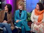 Nancy McKeon, Lisa Whelchel, and Mindy Cohn on Today Show - 05/09/06