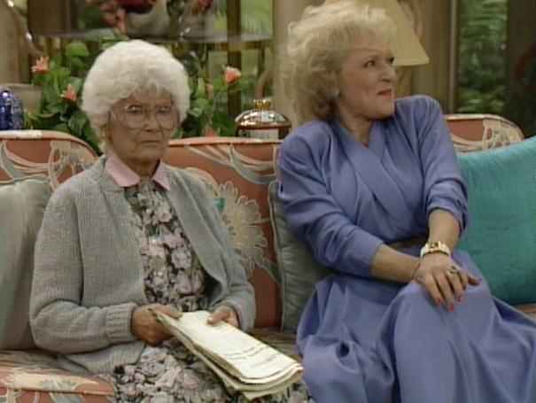 Golden Girls Estelle Getty Betty White Sitcoms