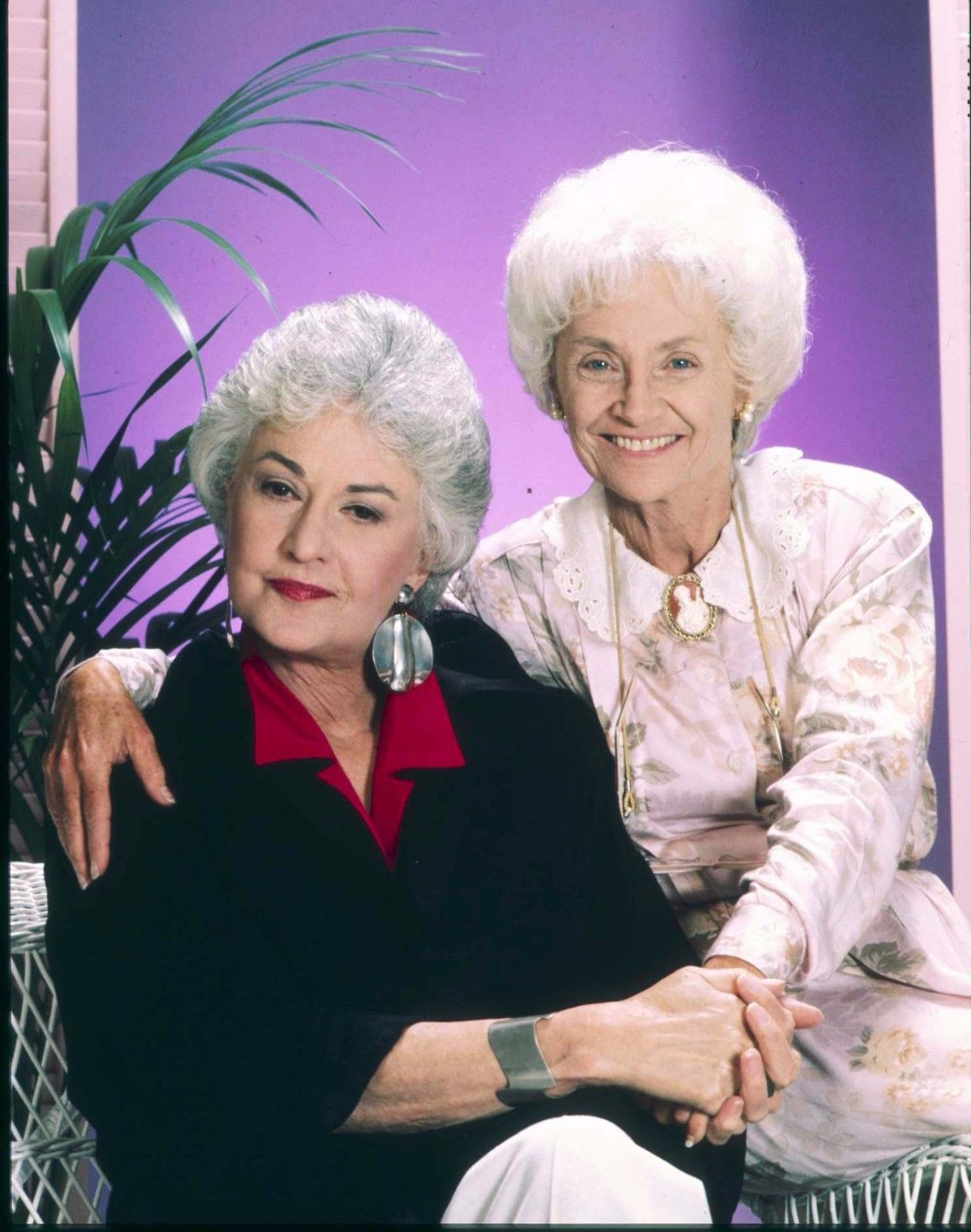 GOLDEN_GIRLS_BEA_ARTHUR_ESTELLE_GETTY_SOPHIA_PETRILLO_1986_TRANSPARENCY_1