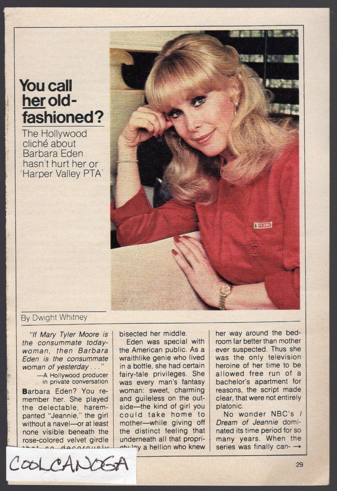 1981_TV_ARTICLE_BARBARA_EDEN_HARPER_VALLEY_PTA_I_DREAM_OF_JEANNIE_3_5_PAGES