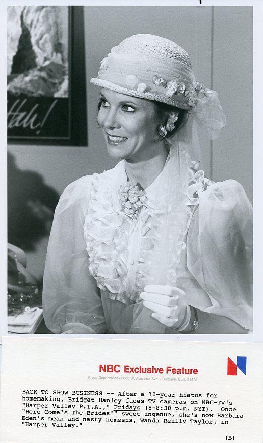BRIDGET_HANLEY_PRETTY_SMILING_PORTRAIT_HARPER_VALLEY_PTA_ORIG_1981_NBC_TV_PHOTO