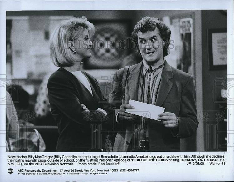 Billy Connolly & Jeanetta Arnette - Sitcoms Online Photo ...