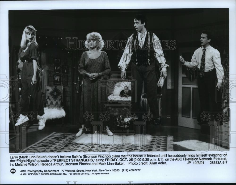 Melanie Wilson Rebeca Arthur Bronson Pinchot Mark Linn Baker Sitcoms Online Photo Galleries