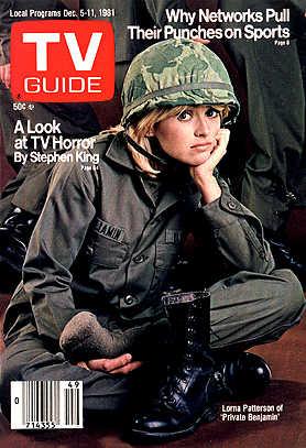 Private Benjamin: TV Guide cover for December 1981 ...
