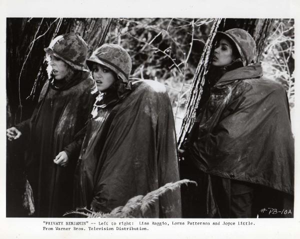 Private Benjamin: Lisa Raggio, Lorna Patterson, & Joyce ...